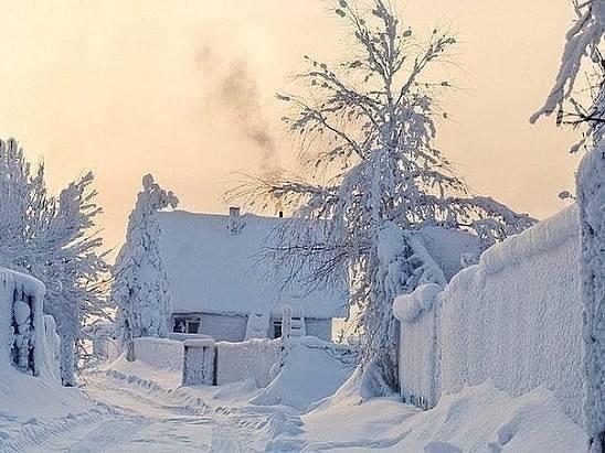 Зима моего детства