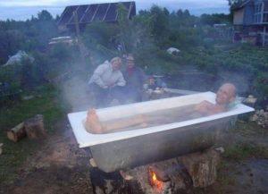 История про ванну