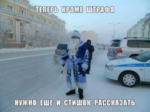 Новогодний полицейский
