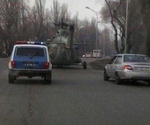 Где-то на дороге в Челябинске