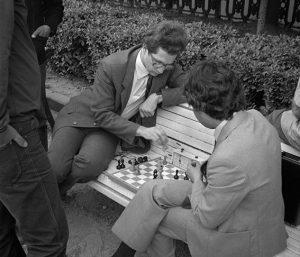 Парк. Шахматы. СССР