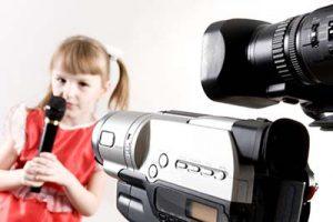 Юная телеведущая. Смешная история