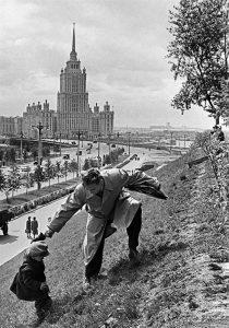 Москва. 1972 год. СССР.