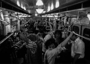 Поездка в метро. Смешная история