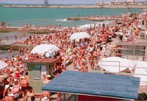 Пляж. Отдых в СССР