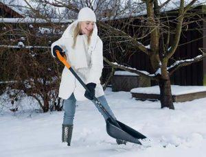 Я выиграла. История про уборку снега