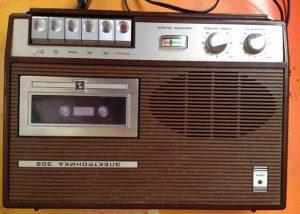 Магнитофон кассетный Электроника 302