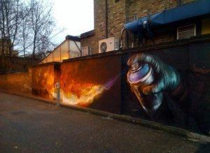 Нереальное граффити
