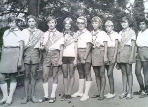 Пионеры СССР, в лагере